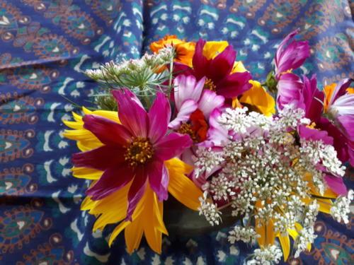 offrande fleurs