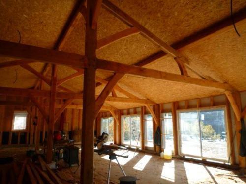 Construction intérieur terre bois paille methode greb